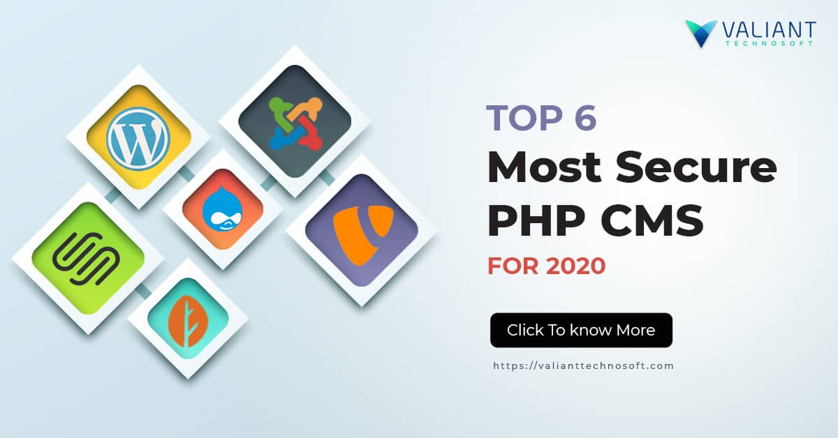TOP 6 Most Secure PHP CMS FOR 2020 - Valiant Technosoft